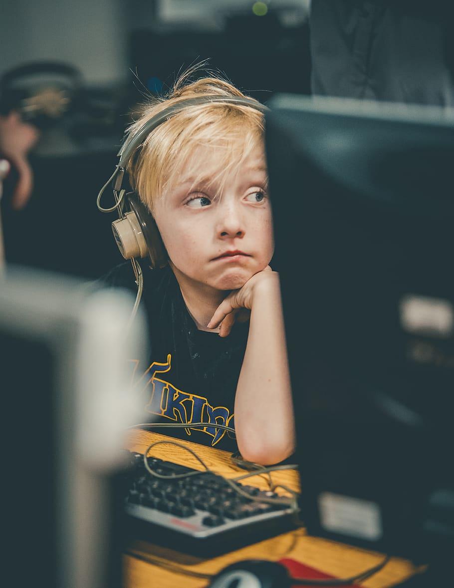 Kids on Online Learning