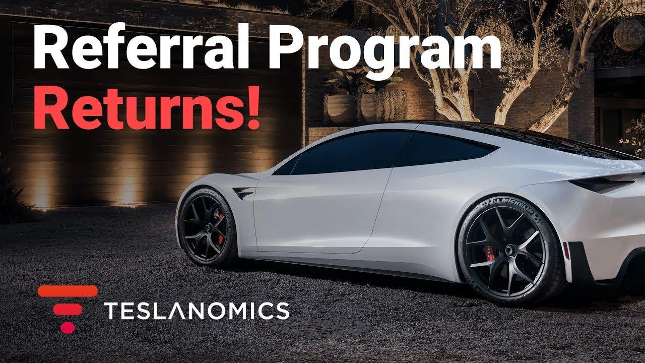 Advocacy Marketing, Tesla Referral Program