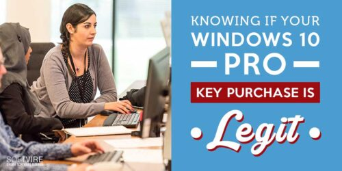 Knowing if Your Windows 10 Pro Key Purchase is Legit