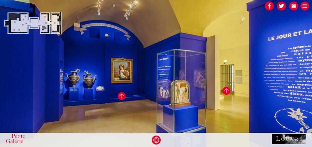 Louvre Museum Virtual Tour