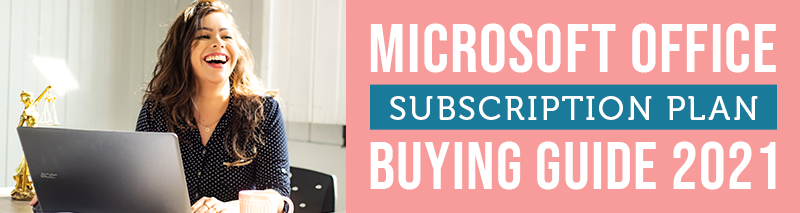 microsoft office subscription plan buying guide