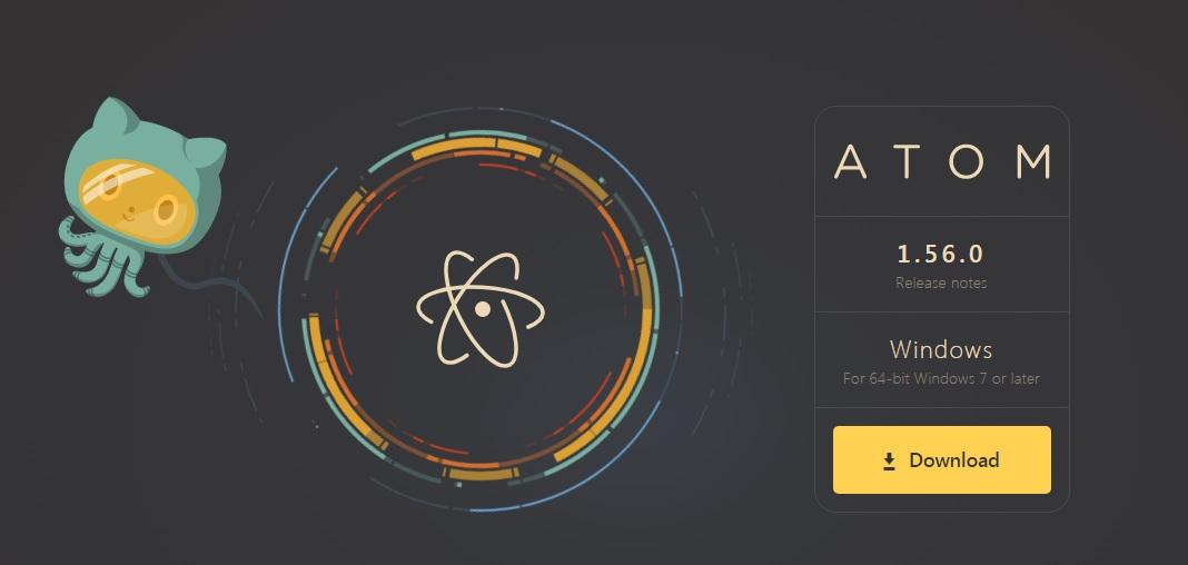 atom software development tools